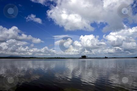Rufiji River in Southern Tanzania stock photo, Rufiji River in Southern Tanzania by Sharron Schiefelbein