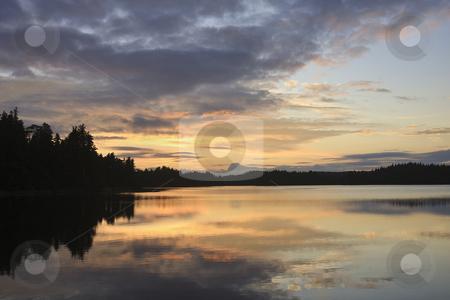 Ocean Sunset stock photo, Ocean Sunset by Sharron Schiefelbein