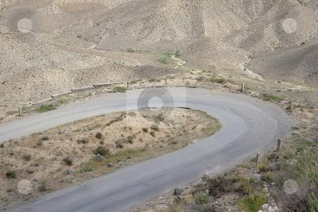 Mountain route - Armenia stock photo, Armenia - mountain route a lot of sand - desert by Tomasz Parys