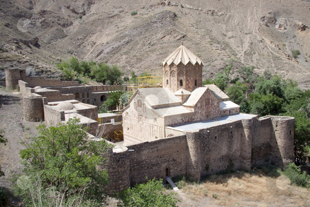 St. Stephanos Church stock photo, St. Stephanos Church in Iran near Jolfa. Old and beauty. by Tomasz Parys