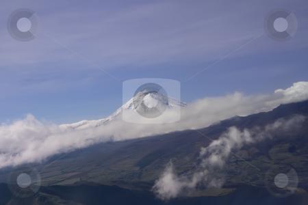 Aerial view of an Ecuadorian Mountain Peak stock photo, Aerial view of an Ecuadorian Mountain Peak by Sharron Schiefelbein