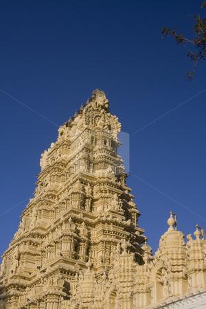 Maharaja Temple Mysore stock photo, Maharaja Temple Mysore by Sharron Schiefelbein