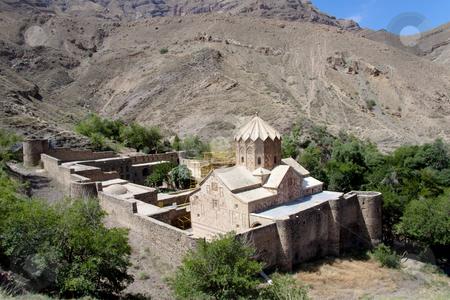 St. Stephanos Church in Iran near Jolfa. stock photo, St. Stephanos Church in Iran near Jolfa. Old and beauty. by Tomasz Parys