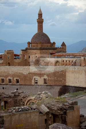 Old castle - Ishak Pasha Palace stock photo, Castle Ishak Pasha Palace near Dogubayazit in Eastern Turkey by Tomasz Parys