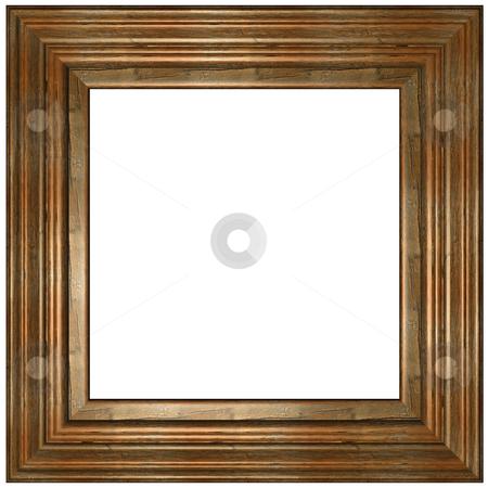 Wooden Frame stock photo, Old Picture Frame by Adam Radosavljevic