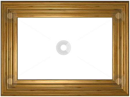 Art Picture Frame stock photo, Old wooden classical Picture Frame by Adam Radosavljevic