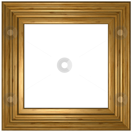 Picture Frame stock photo, Old wooden Picture Frame by Adam Radosavljevic