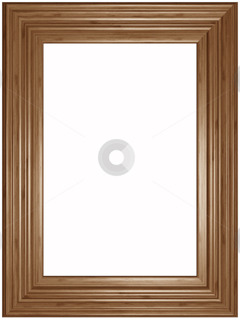Picture Frame stock photo, Old wooden classical Picture Frame by Adam Radosavljevic