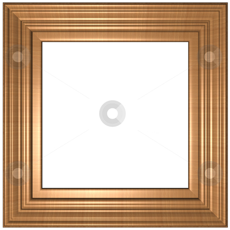 Frame stock photo, Old Gold Picture Frame by Adam Radosavljevic