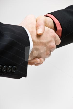 Business people handshaking stock photo, Business people handshaking by Jonathan Ross