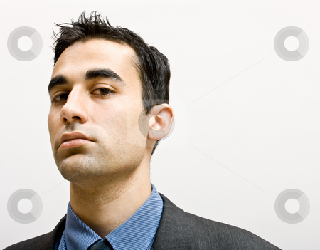 Serious businessman stock photo, Serious businessman by Jonathan Ross
