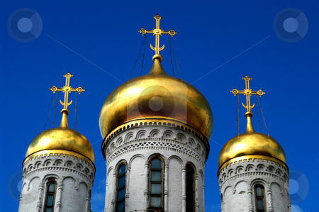 Church of the Twelve Apostles stock photo, Russia, Moscow, the Kremlin, The Church of the Twelve Apostles by David Ryan