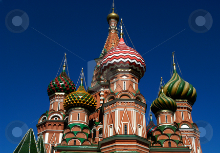 St. Basil's Cathedral stock photo, Russia, Moscow, St. Basil's Cathedral by David Ryan