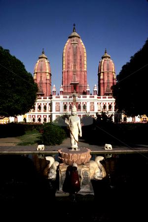 Laxminarayan Mandir Temple stock photo, India, Delhi, Laxminarayan Mandir Temple by David Ryan