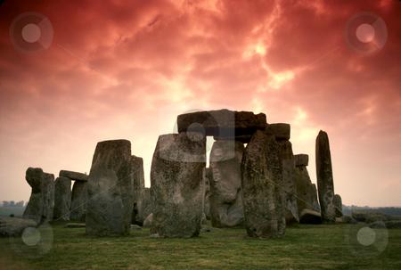 Stonehenge stock photo, England, Wiltshire, Stonehenge by David Ryan