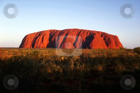 Ayers Rock stock photo, Australia, Northern Territory, Ayers Rock (Uluru) by David Ryan