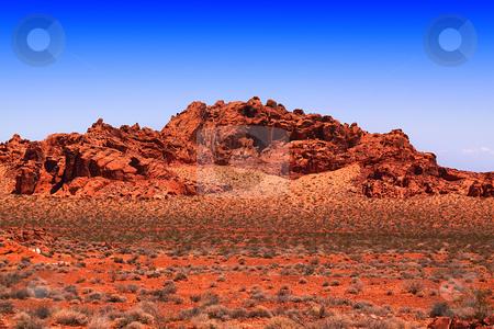 Redrocks stock photo, Redrocks in Arizona by the highway to Nevada by Mehmet Dilsiz