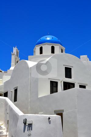 Chapel in Santorini Island stock photo, Travel photography: Chapel in the beautiful island of Santorini, Greece by Fernando Barozza