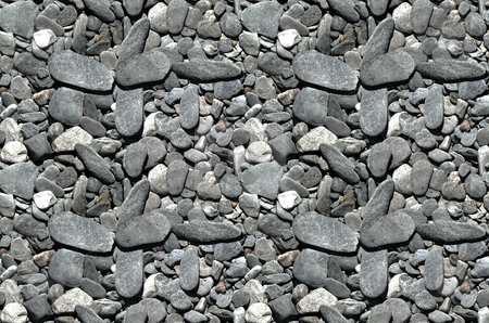 Tiling pebbles- 2x2 stock photo, A 4-up image of pebbles that tile horizontally and vertically by Darren Booth