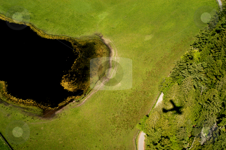 Wetlands stock photo, USA, Washington, Marsh Lands near Seattle by David Ryan