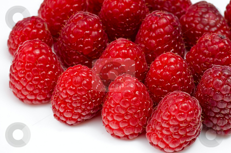 Fresh ripe raspberry stock photo, Fresh ripe raspberry by Oleg Karpenko