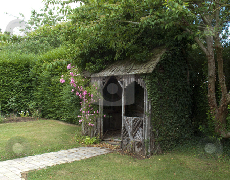 Summer house stock photo,  by Stephen Clarke