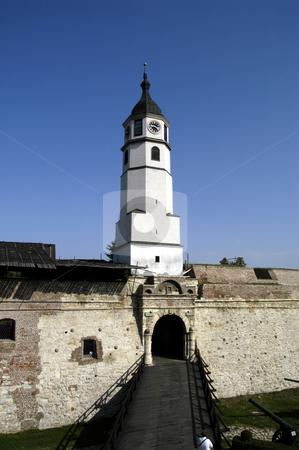 Belgrade Fortress stock photo, Serbia, Belgrade, Kalemegdan Park, Belgrade Fortress by David Ryan
