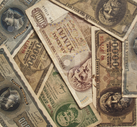 Foreign Currency stock photo, A collection of foreign notes by Stephen Clarke