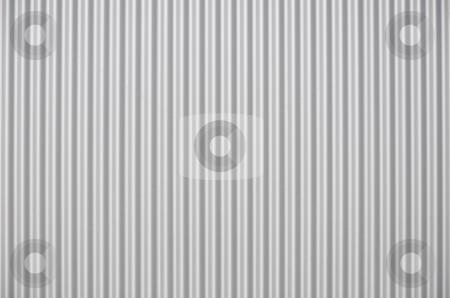 Corrugated iron stock photo, Corrugated iron by Robert Biedermann