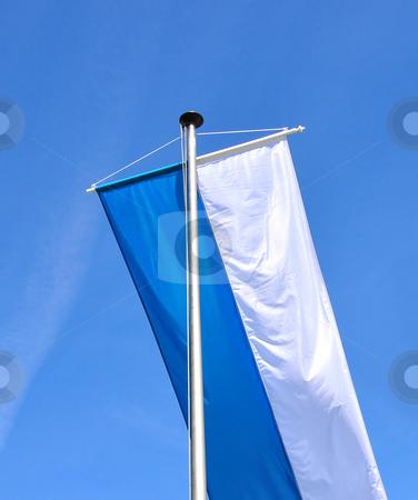 Flag of Bavaria stock photo, Flag of Bavaria by Robert Biedermann