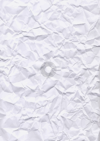 Crumpled paper texture stock vector clipart, Great to use in your work to give everything a crumpled look and feel. Just place over your art and use transparency. by Jaka Verbic Miklic