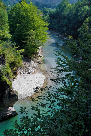 Lammer canyon  stock photo, Georgious colorful canyon called lammerklamm in Austria by Karin Claus