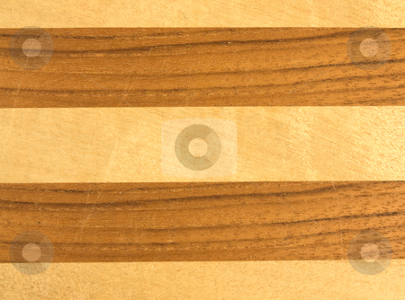 Wooden Background stock photo, Close up of a wooden background with horizontal gooves by John Teeter