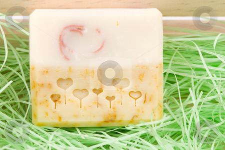 Exquisite handmade soap stock photo, Exquisite handmade soap,add natural herb. by Lawren