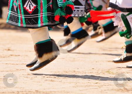 Buffalo Dance stock photo, Native American buffalo dance by Brenton Kingsbauer