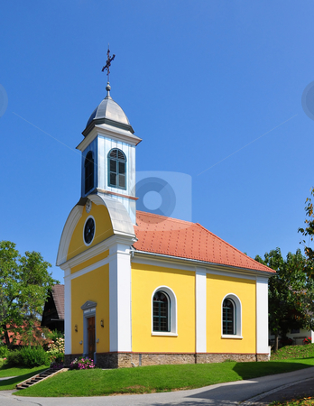 Church in Rossegg, Styria, Austria stock photo, Church in Rossegg, Styria, Austria by Robert Biedermann