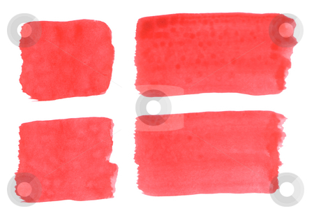 Denmark flag stock photo, Brushed danish flag on white background by J?