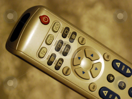 Remote Control stock photo, Uneversal Remote Control for TV, DVD, VCR etc. by Skovoroda