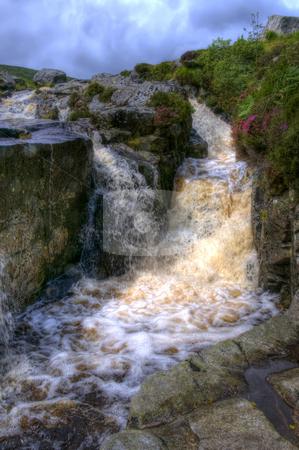 Beautiful Waterfall stock photo, A beautful waterfall in Ireland by Stephen Kiernan
