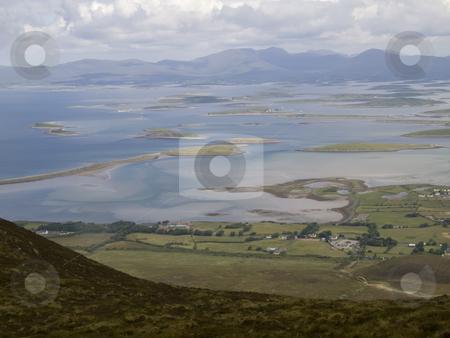 Irish Coastline stock photo, The coast of west Ireland in Mayo by Stephen Kiernan