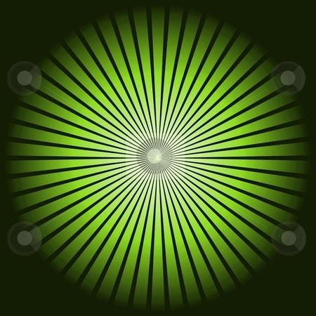 Star Green stock photo, Green star pattern texture on black background. by Henrik Lehnerer