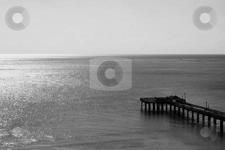 Long Pier stock photo,  by Michael Felix
