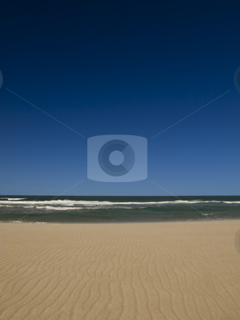 Empty beach stock photo, Empty beach on the shores of the ocean. by Ignacio Gonzalez Prado