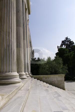 Acropolis steps stock photo,  by Stefanos Kyriazis