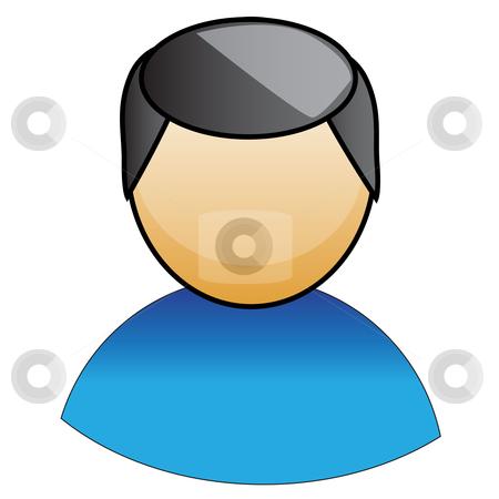 User icon stock vector clipart, User icon by Sadik Saidov