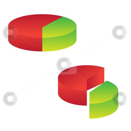 Chart icon stock vector clipart,  by Sadik Saidov