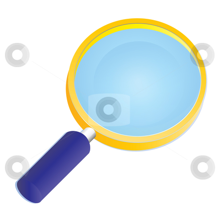 Search icon stock vector clipart, Search icon by Sadik Saidov
