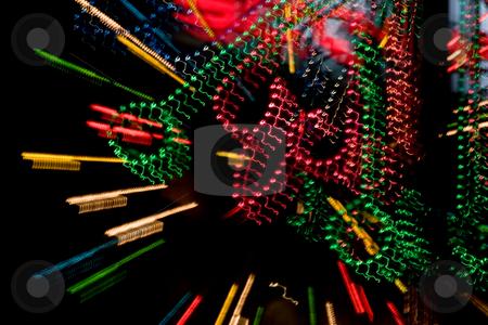 City lights stock photo, Background series: night city color lights texture by Gennady Kravetsky