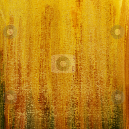 Grunge yellow and orange scratched paper texture stock photo, Red orange yellow watercolor abstract hand painted strokes on paper, scratch texture,  self made by Marek Uliasz