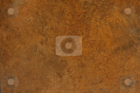 Rusty metal sheet texture stock photo, Old rusty and dirty metal plate - grunge background by Marek Uliasz